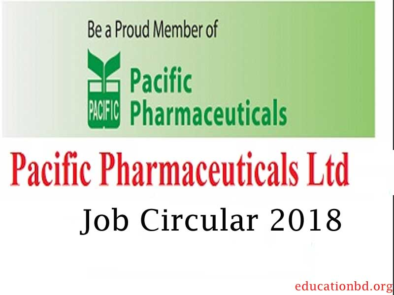 pacific pharmaceuticals job circular 2020