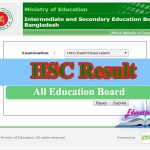 HSC Result 2020 All Education Board Bangladesh