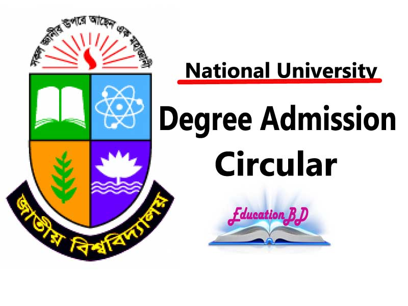 National University Degree Admission 2018
