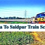 Dhaka To Saidpur Train Schedule