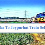 Dhaka to Joypurhat Train Schedule