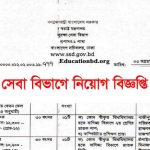 Security Services Division Job Circular 2019