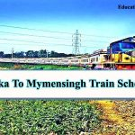 Dhaka to Mymensingh Train Schedule