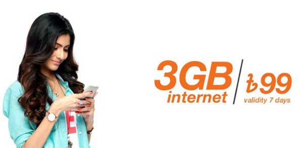 Banglalink 3 GB Internet Offer Two